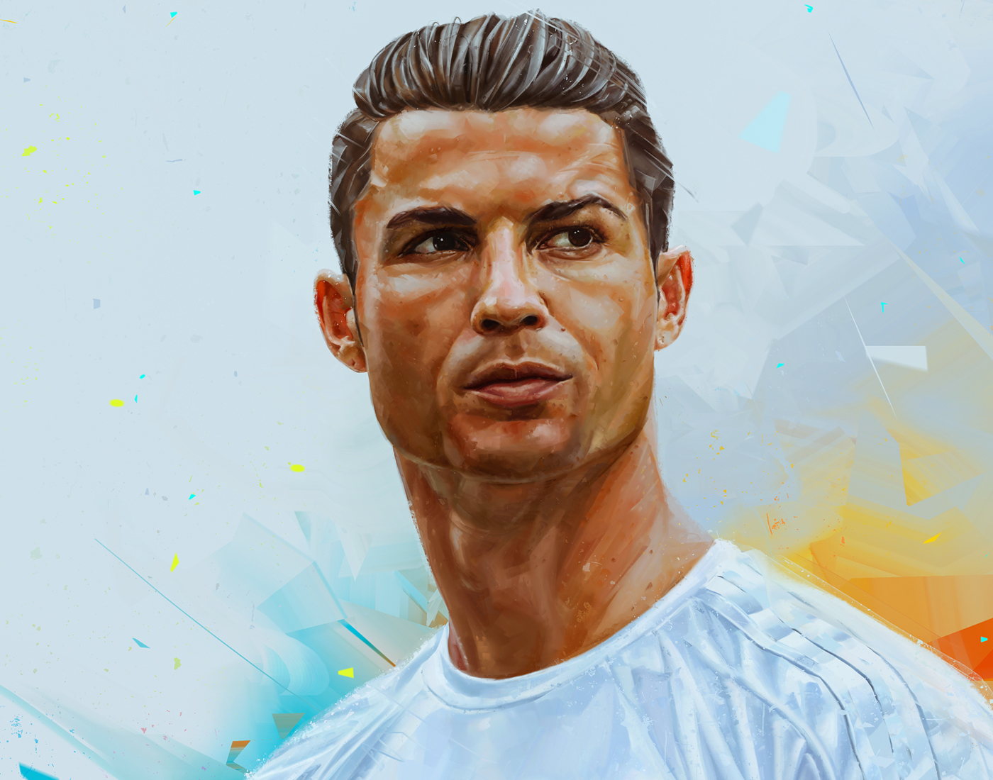 soccer футбол спорт sports Ronaldo magazine cover publishing   editorial griezmann