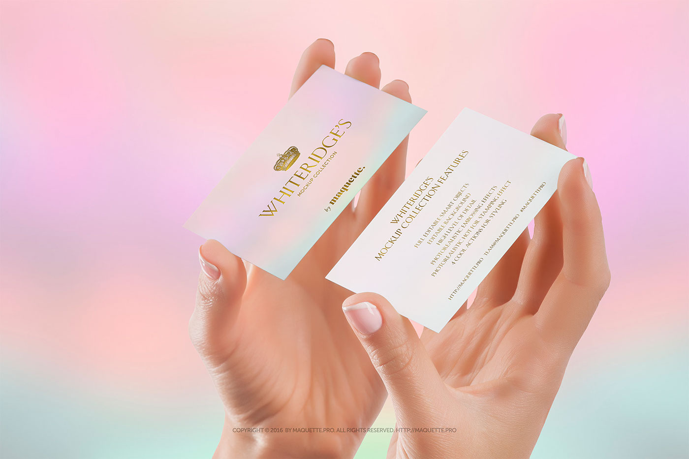 Female hands with 2 vertical business cards mockup psd on behance maquette is presenting you an elegant mockup of female hands with 2 vertical business cards as a part of whiteridges collection magicingreecefo Image collections