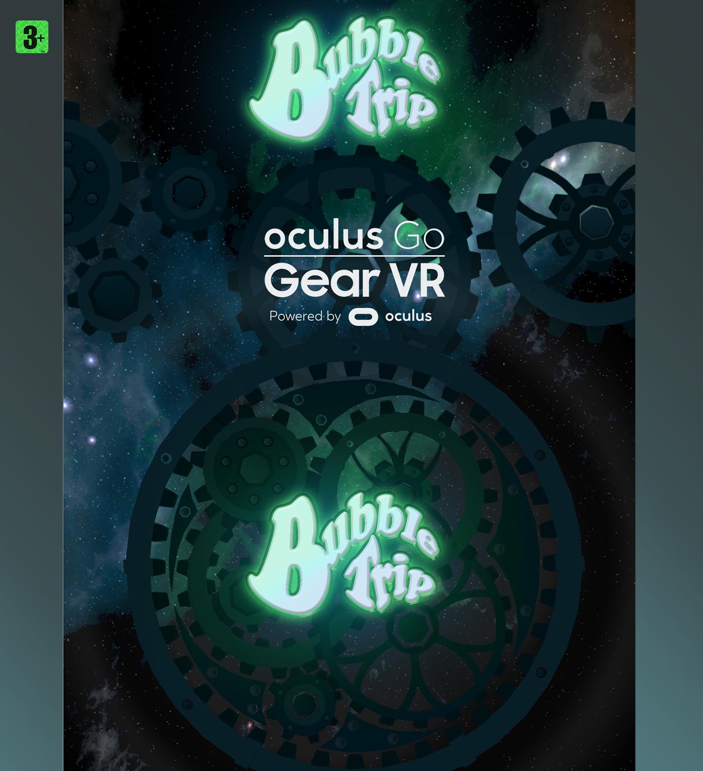 vr game unity arcade reflexion Gear VR oculus go Oculus quest Samsung app