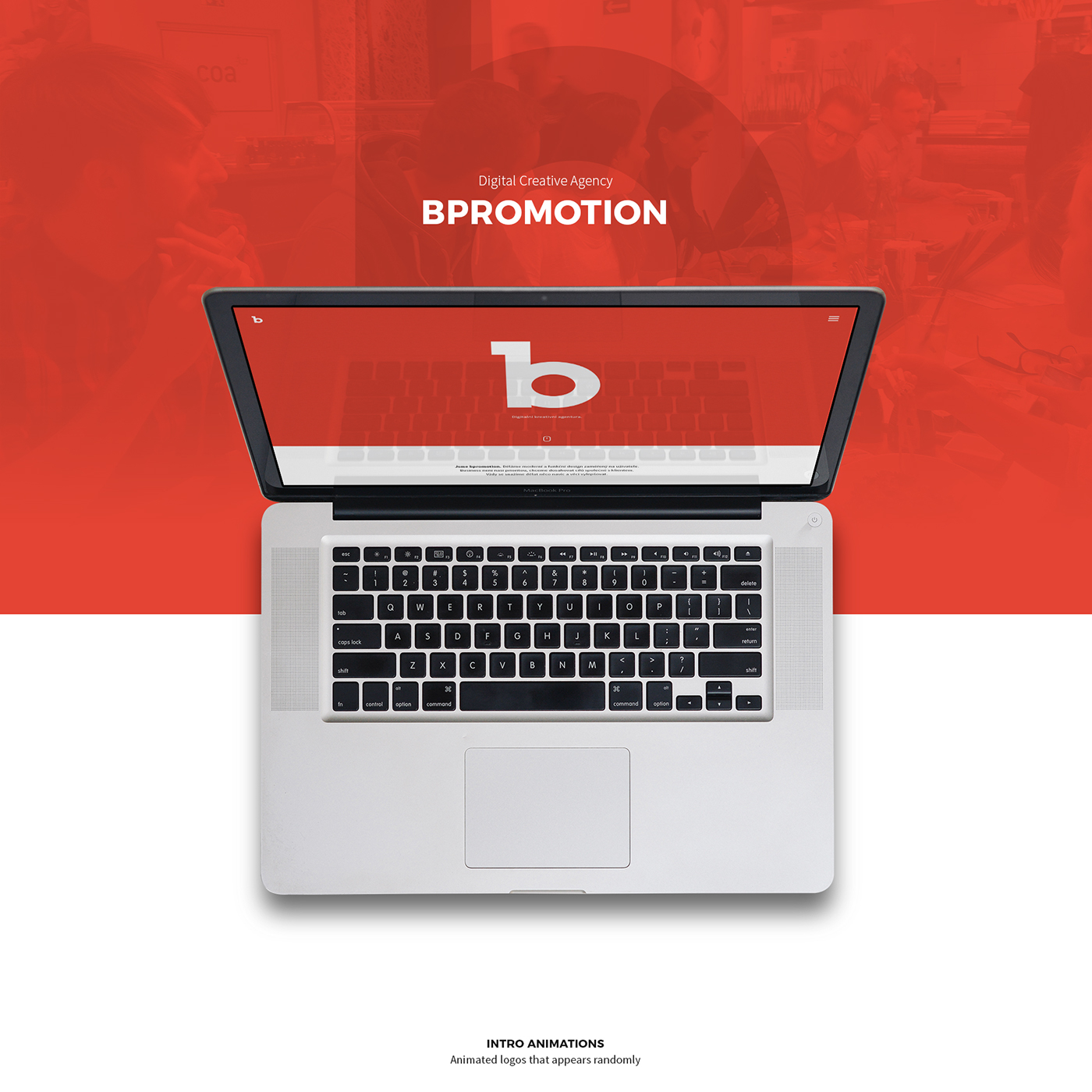 bpromotion digital agency red animations cinemagraph Project prague Czech Republic