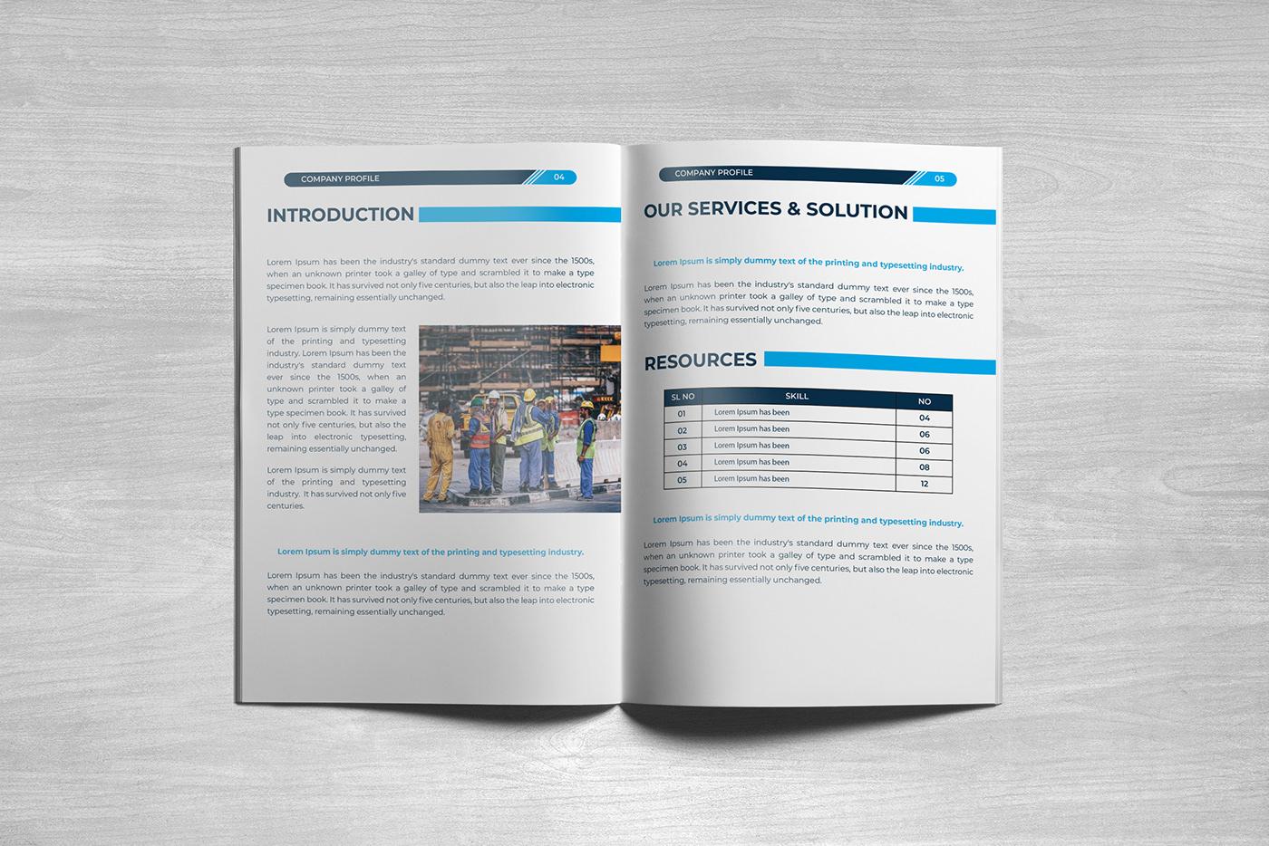 Company Profile Free company profile template Company profile design business brochure Free Template brochure ai template design company proifle