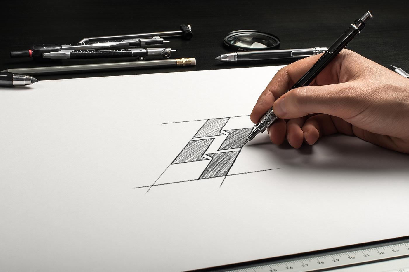 logo designer vietnam thiet ke logo Identity Design Brand EMOBREAKER VUPHAM VUPHAM248 Fashion  EMOBREAKERAGENCY SAADOVIETNAM