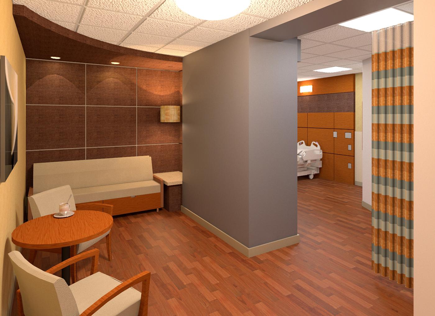 3D Rendering Healthcare design
