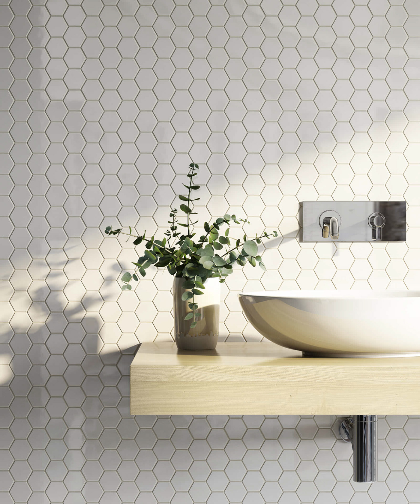 Bathroom 3D Rendering Tiles Shapes/Colors on Behance