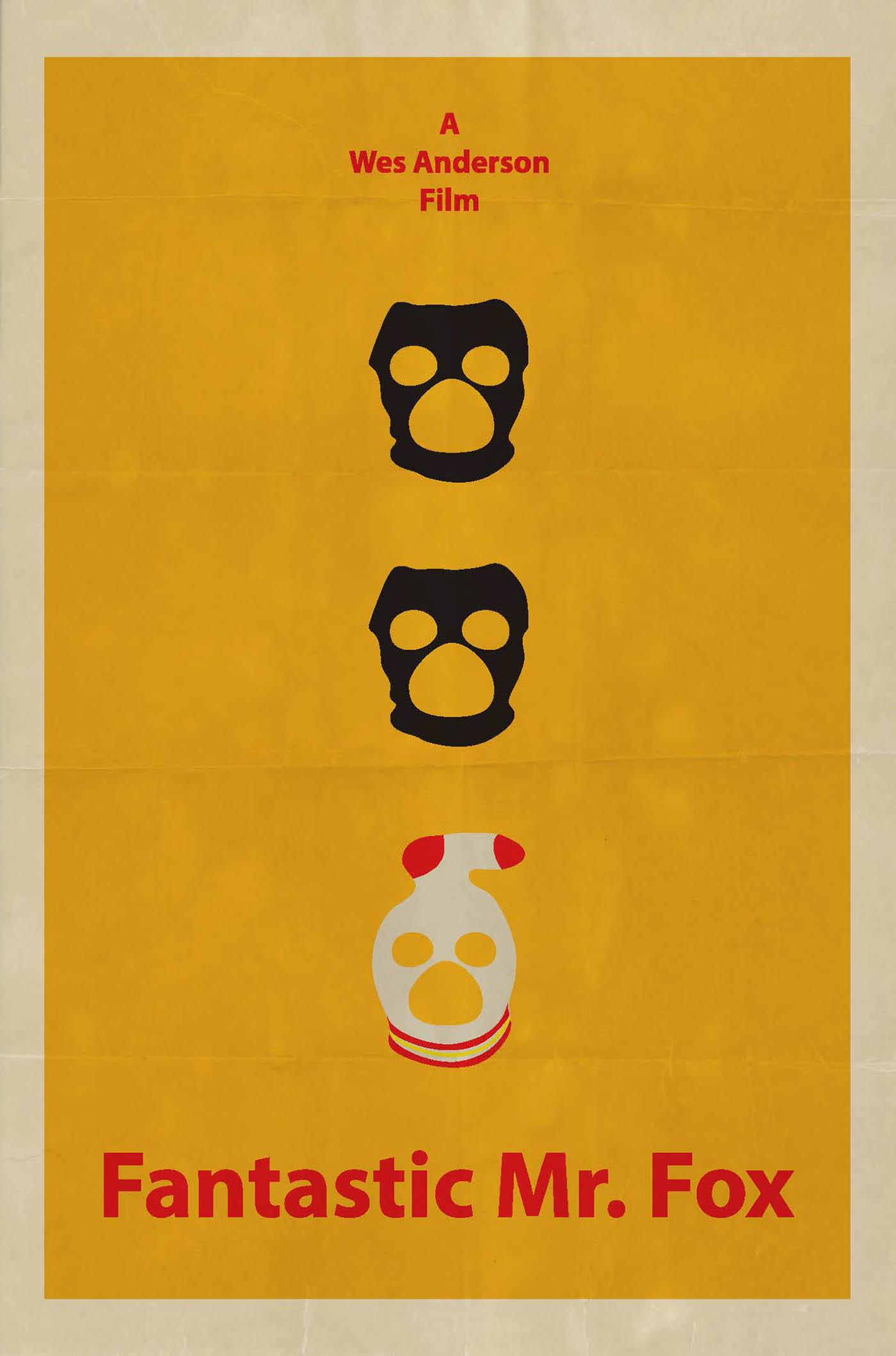 Fantastic Mr Fox Poster On Behance