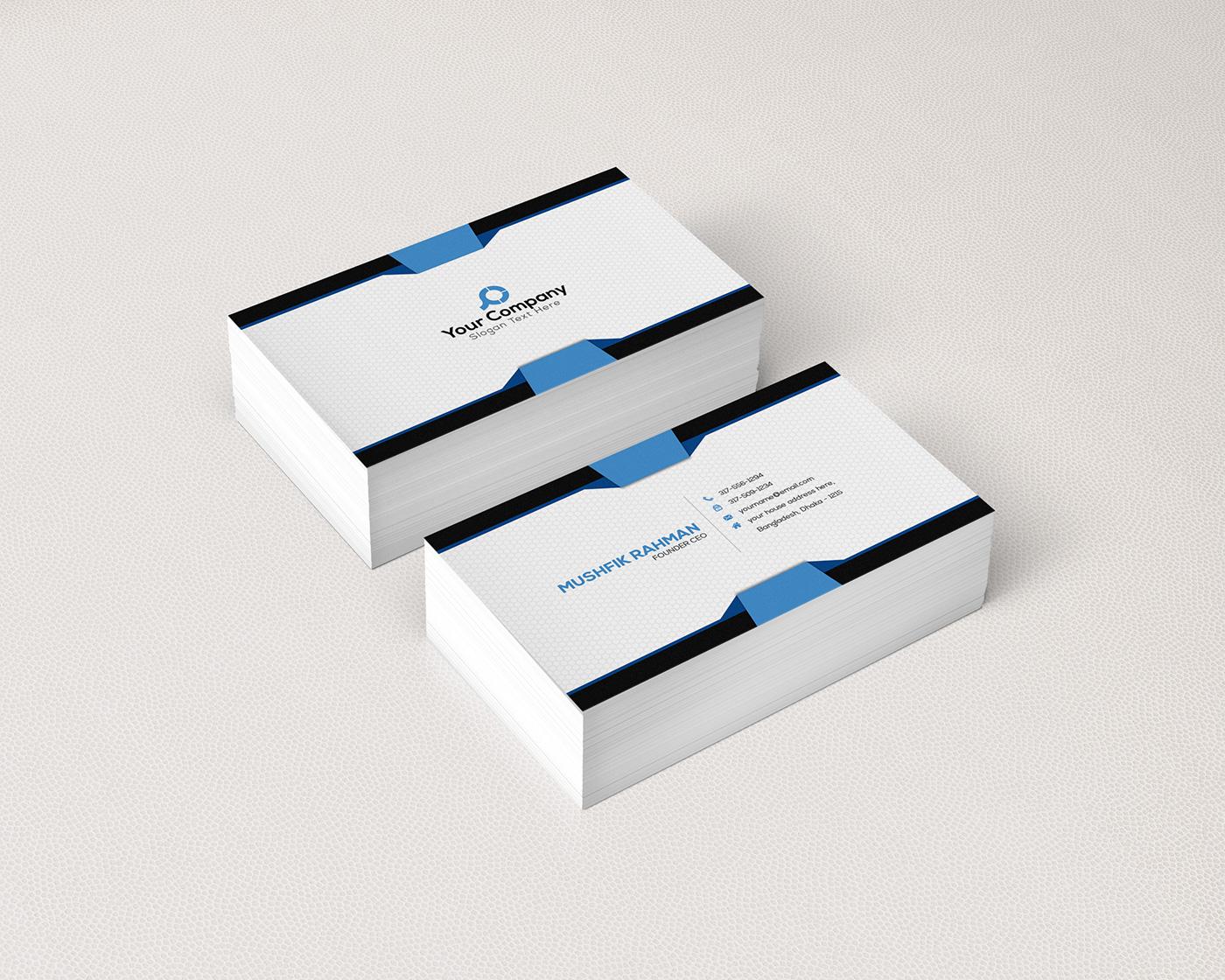 Corporate Business Card Bundle 3 On Behance