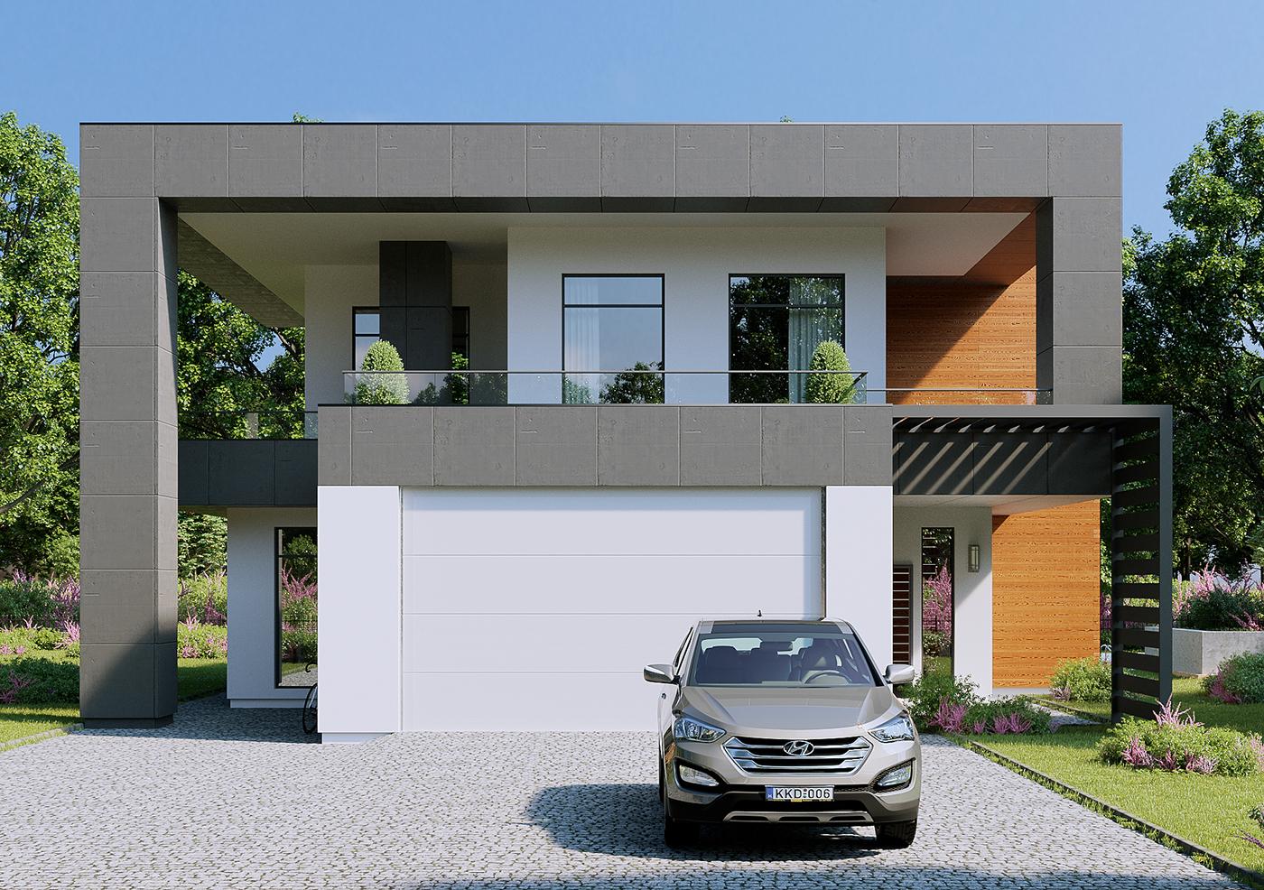 exterior 3dsmax corona-renderer design Ireland visualisations