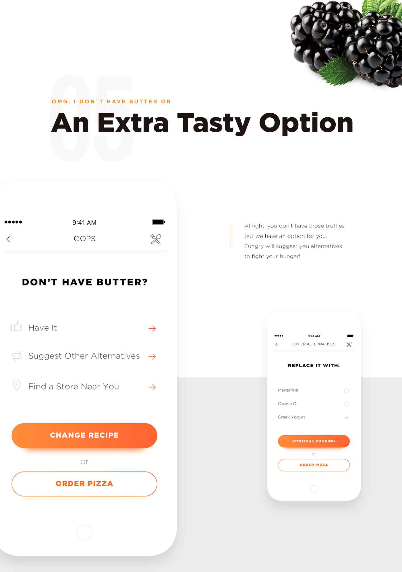 Food  recipe mobile app application tasty ios restaurant meals concept