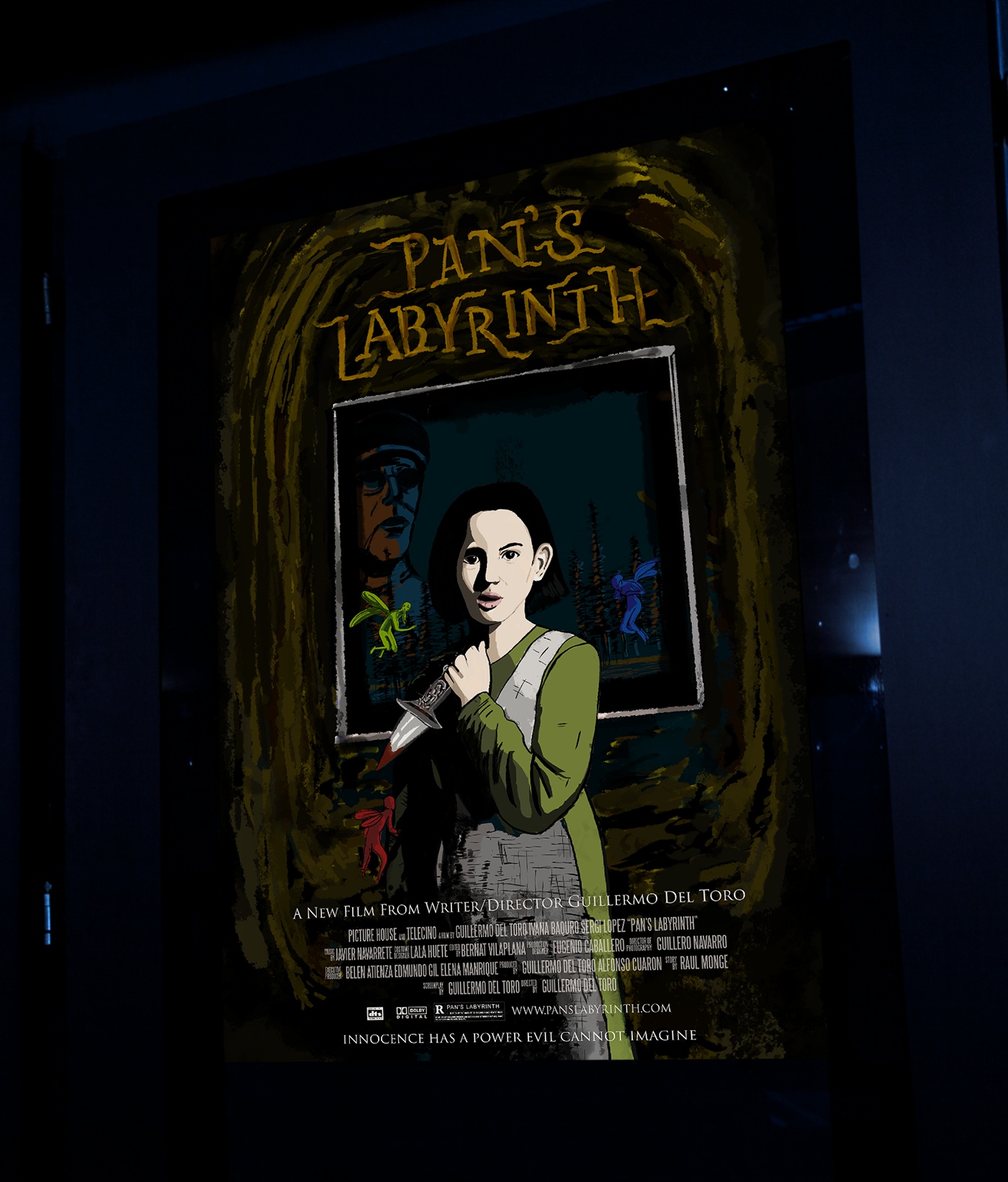 pan s labyrinth movie poster on behance