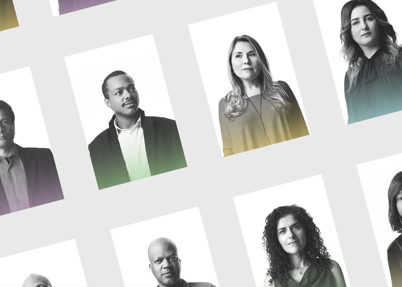 campaign city closed doors Immigration interactive mask Montreal portes fermées racisme