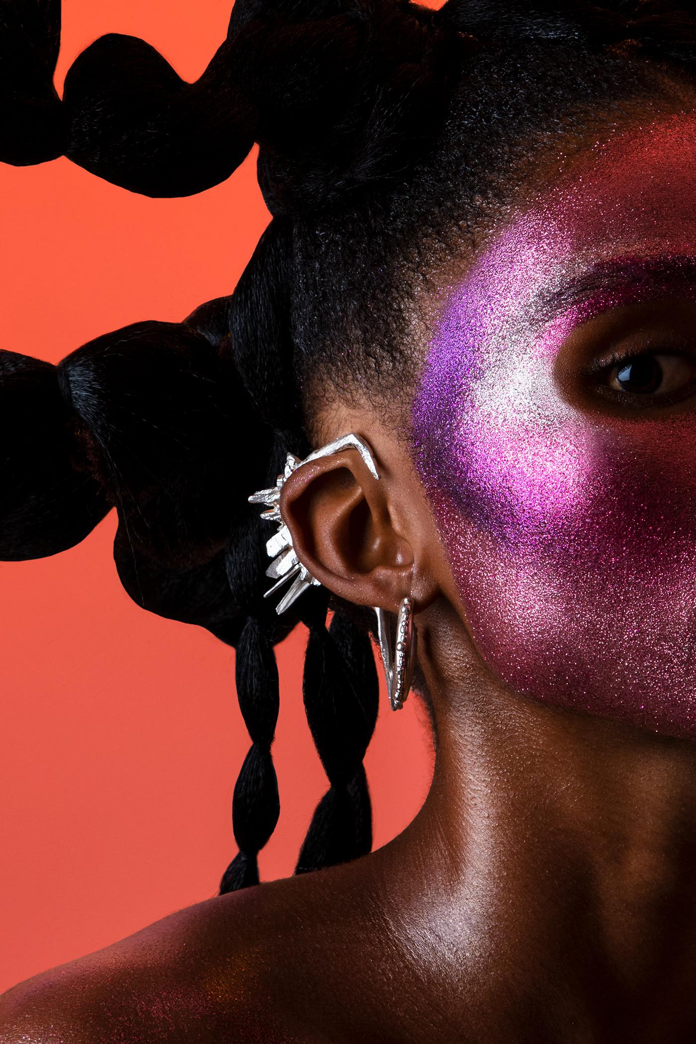 colour gels Creative Direction  Fashion  fashion photography hair makeup makeup artistry portrait Portraiture potrait photography