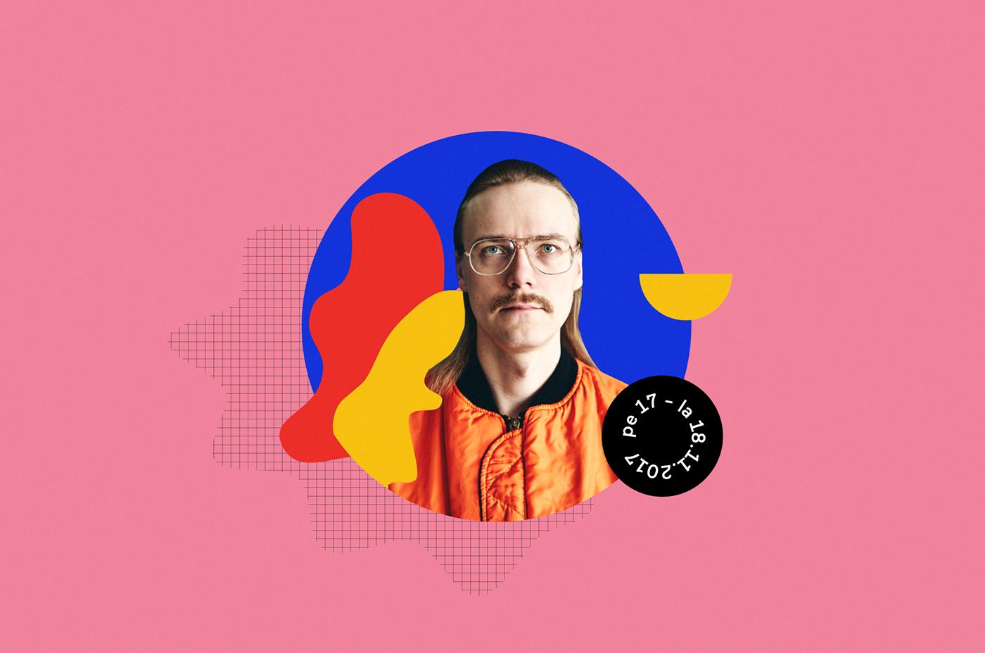 branding  graphic design  festival music Event graphics design art