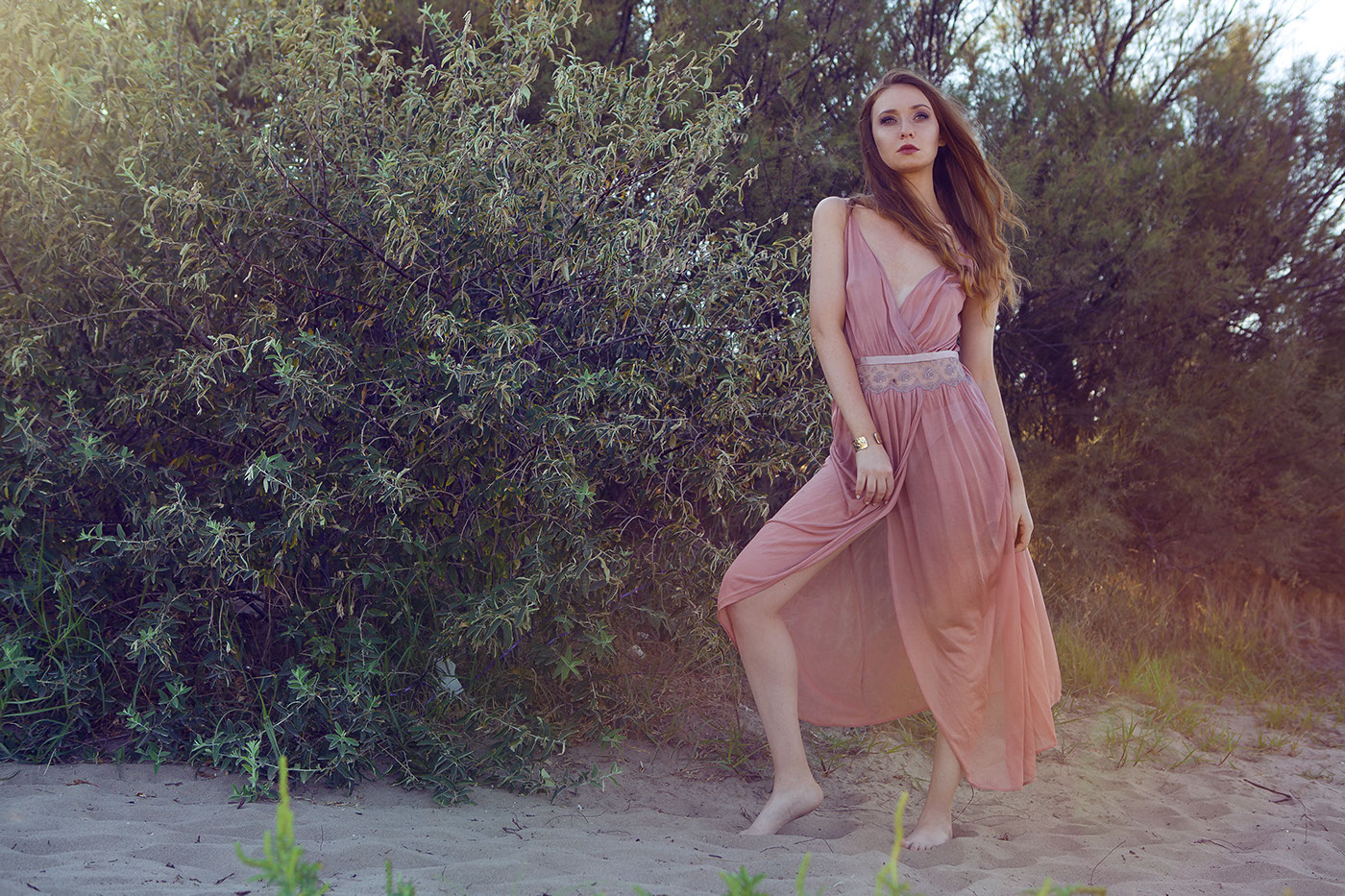 Fashion  Fashionshooting beauty portrait beach Photography