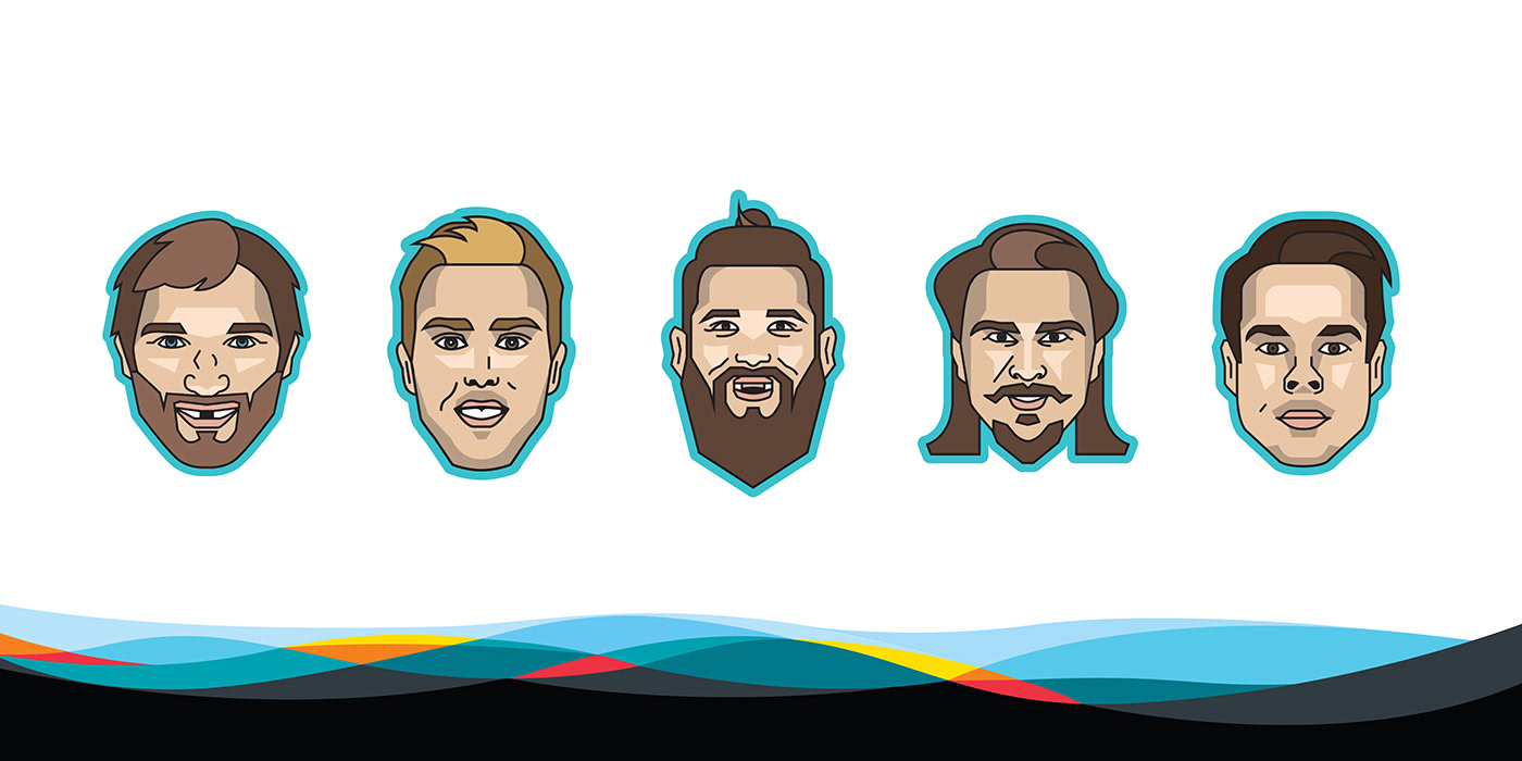 2019 NHL All-Star Player Emojis on Behance