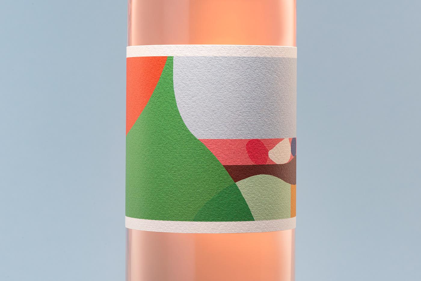 Barossa Wine branding  graphic design  ILLUSTRATION  wine wine brand wine design wine label