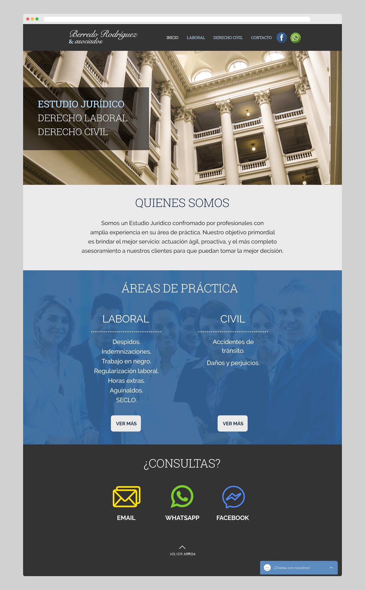 rediseño sitio web Website wix logo attorney