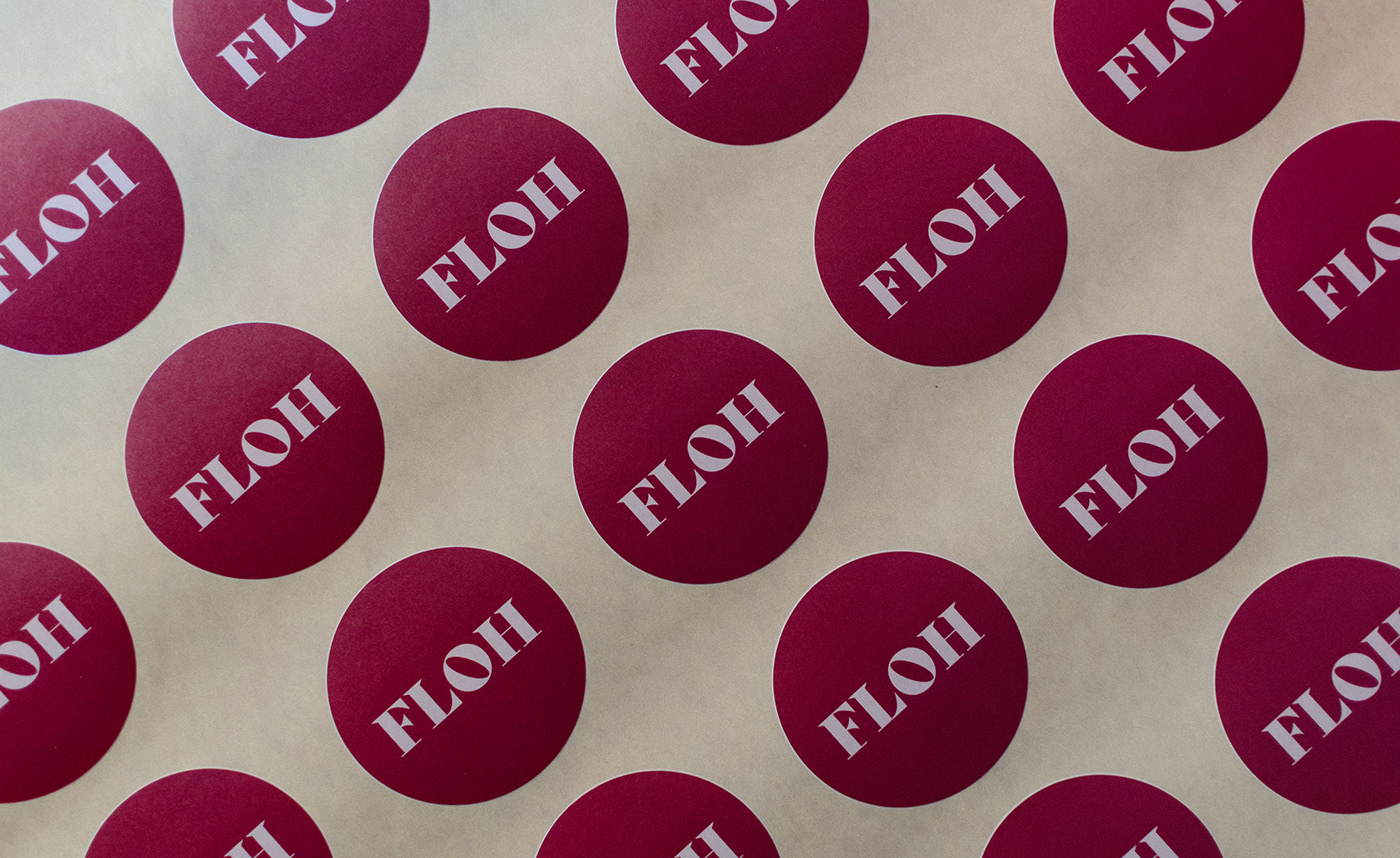 Floh Stickers