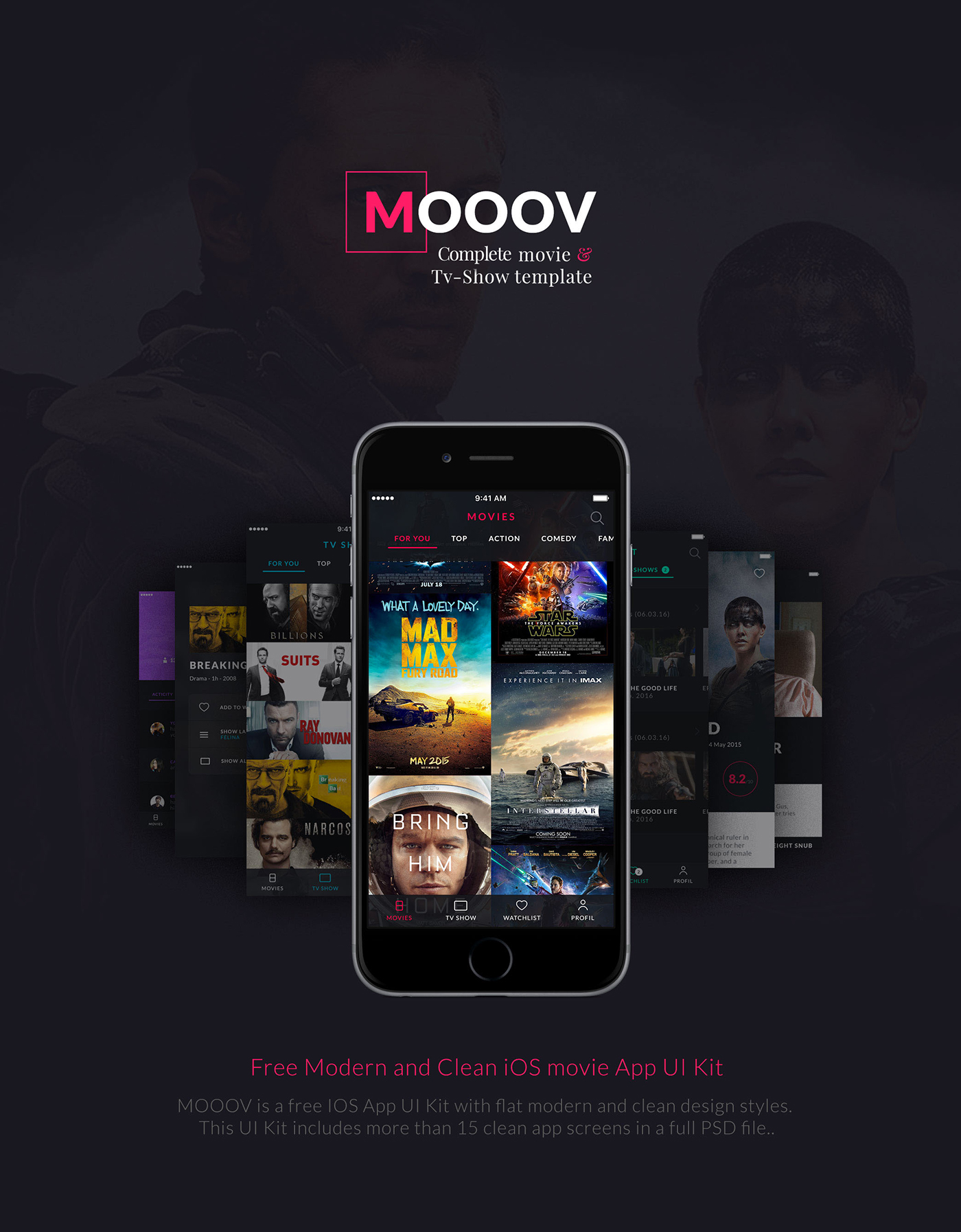 MOOOV - Available on Template monster on Behance