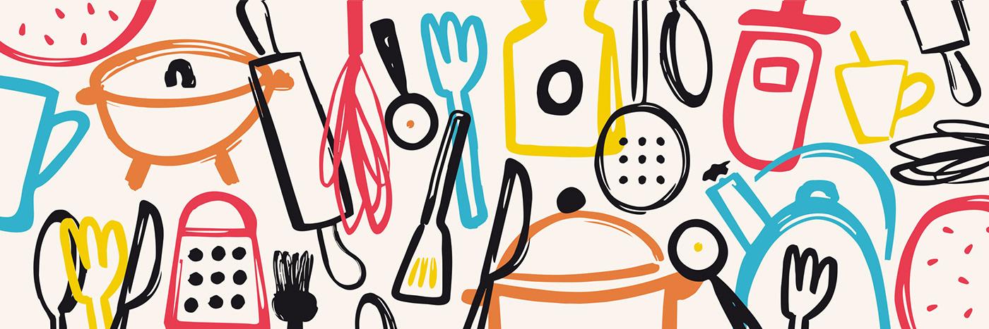 #cocina  #diseñoeditorial #ILUSTRACION #infantil    diseñografico