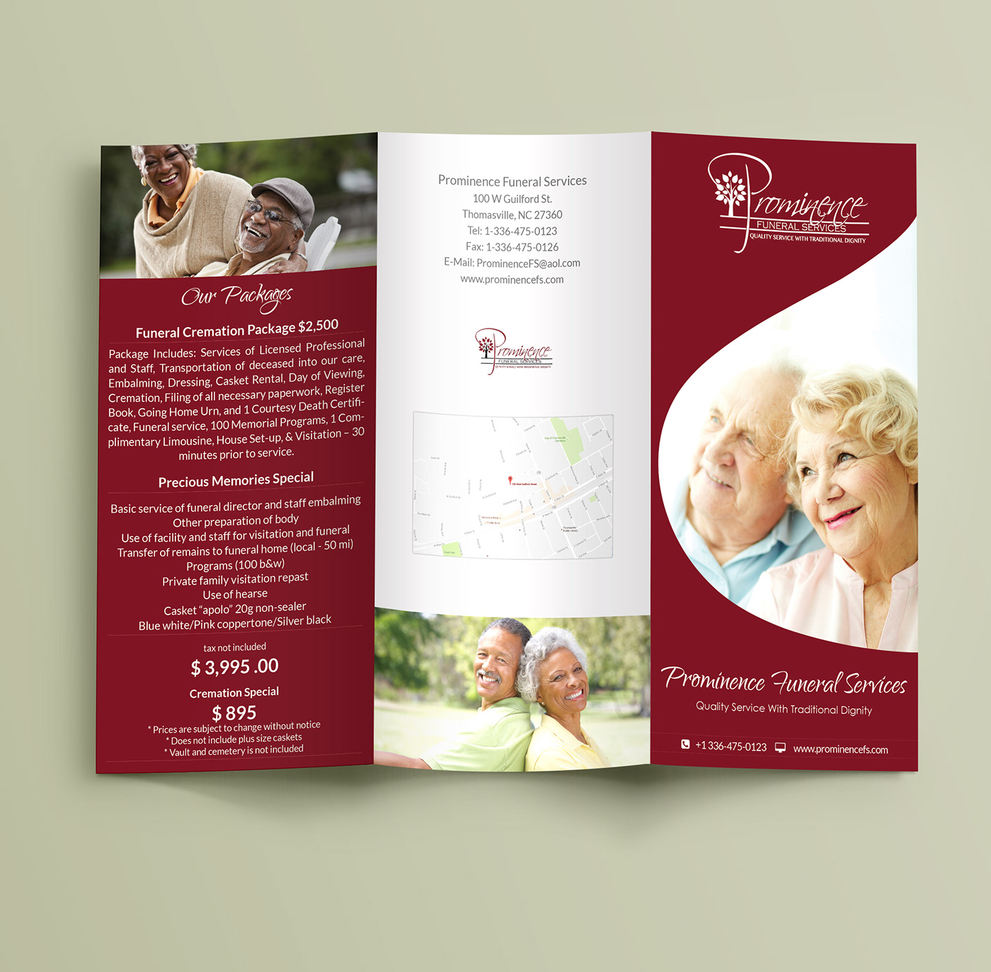 a4 A4 brochure business brochure old house Elderly House  elegant brochure nece corporate modern creative worm color tri-fold Eye-Catching popular old house agency