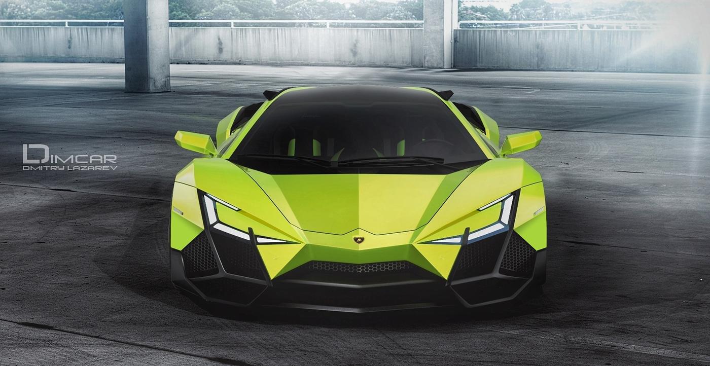 Lamborghini Forsennato On Behance