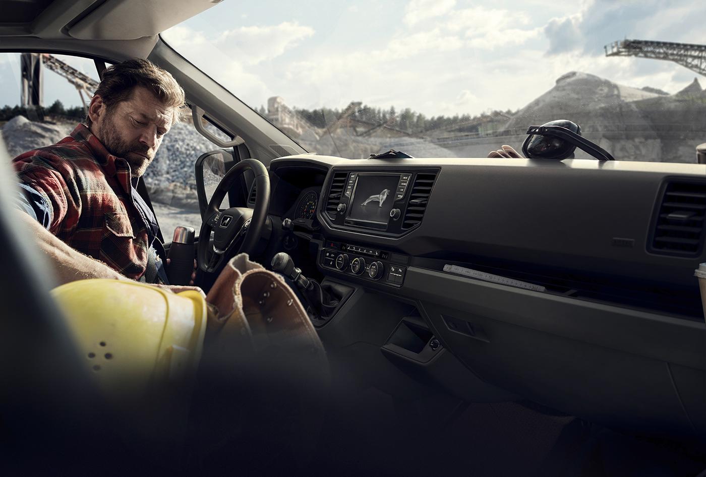 man vray jungvonmatt JvM CGI Advertising  Automotiv photoshop
