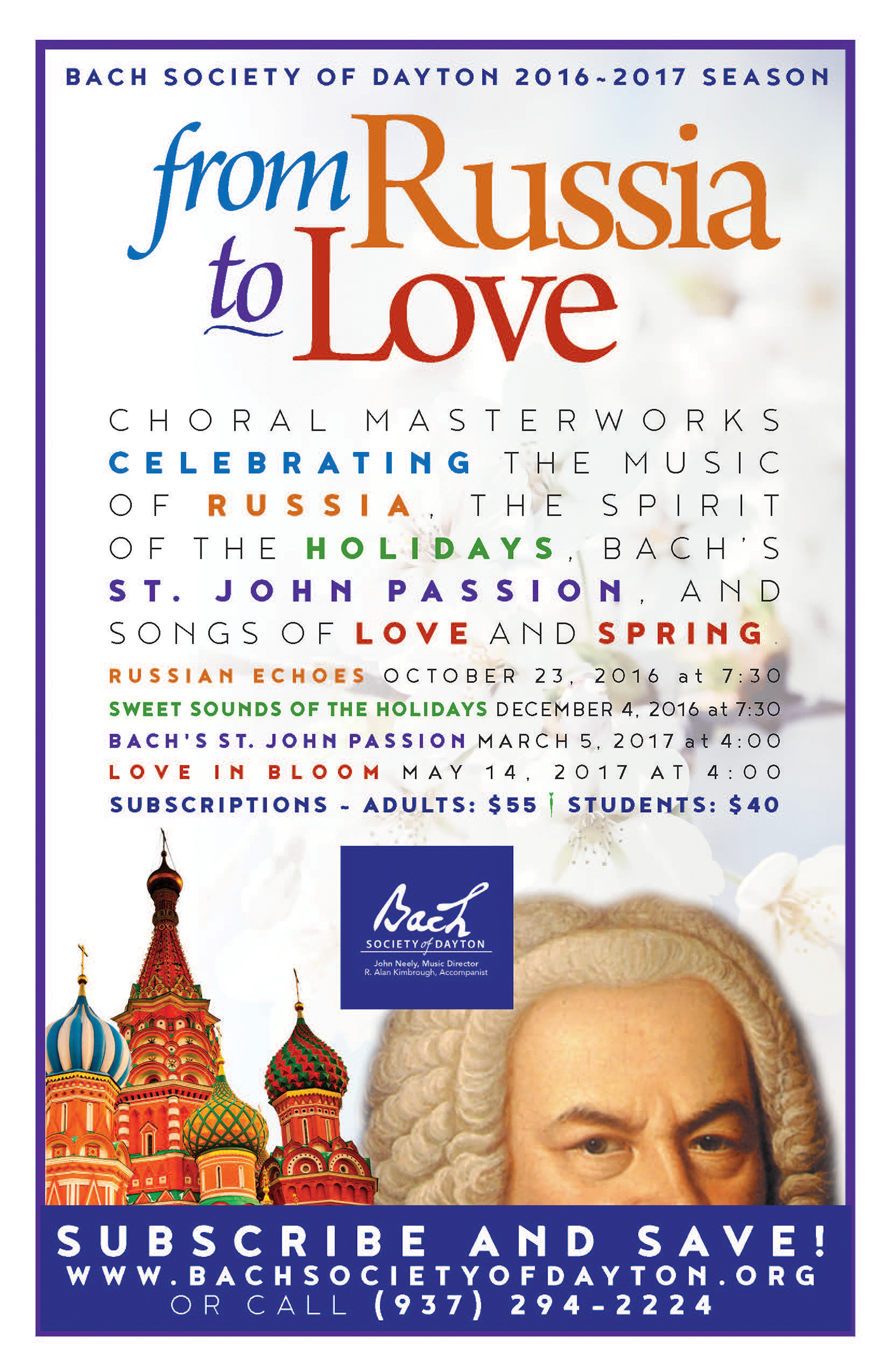 Bach Society of Dayton Rebrand on Behance