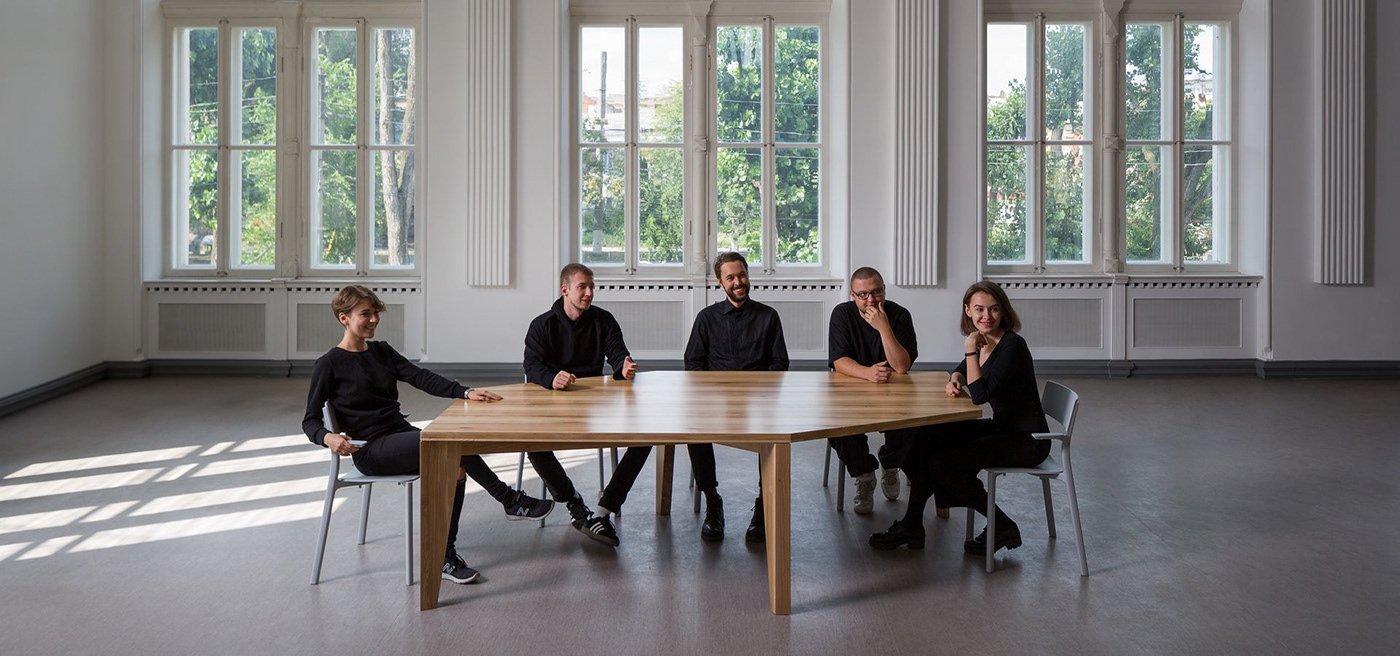 architecture creative design Drozdov & Partners face to face Oleg Drozdov people table Unique video
