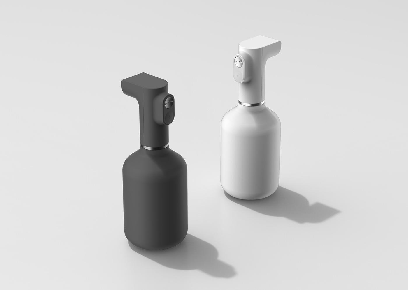 electric sprayer auto pump designmelt Melt bottle