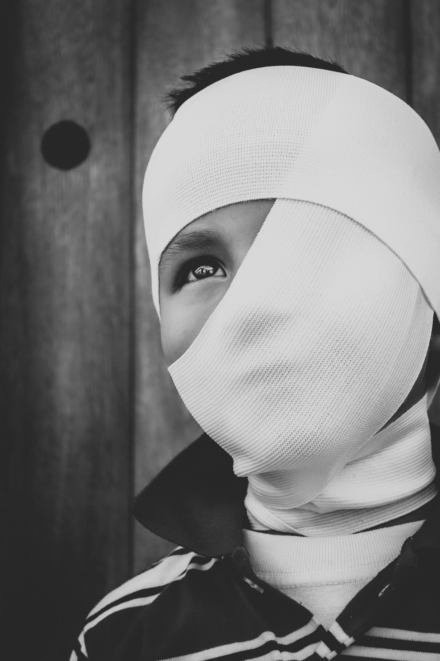 kids black color foto photo studio White villa de leyva gray alone noir