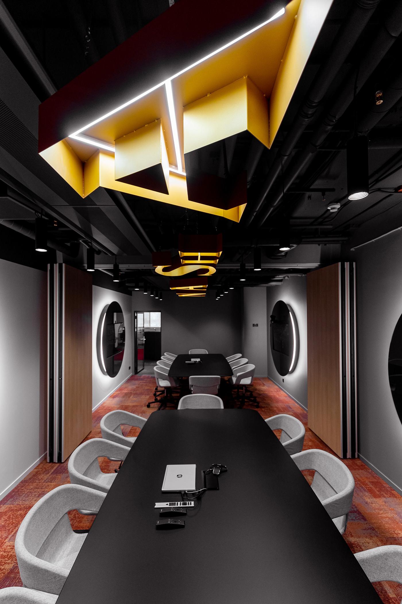 architecture design Interior interior design  Moscow Office Office interior