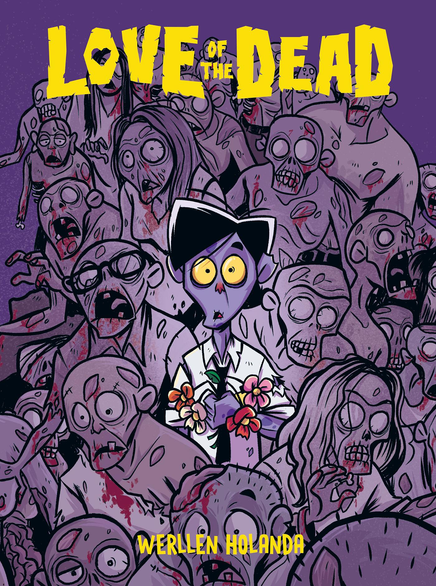Zumbi Love amor hq comics