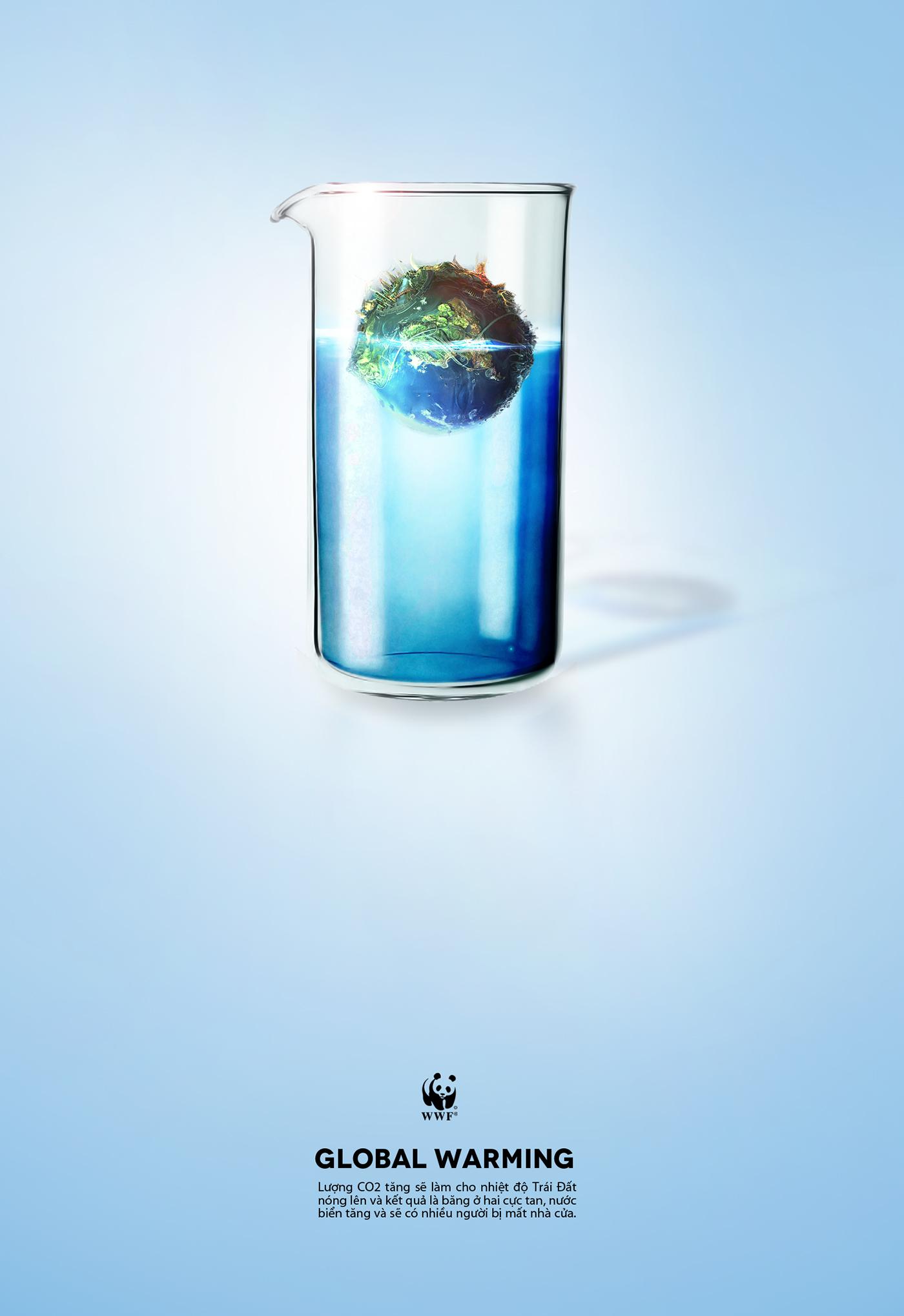 有獨特感的20個環保海報欣賞