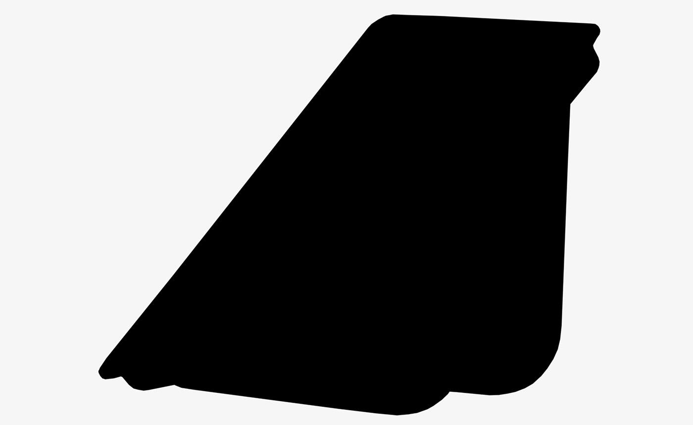 Black shape on poster