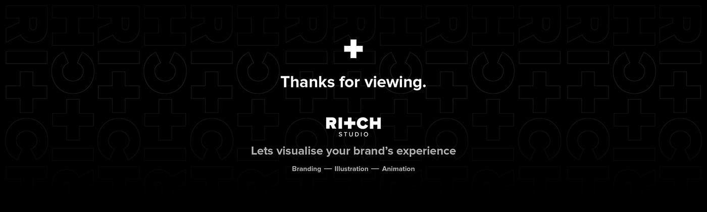Thanks for Viewing. Lets visualise your brand's experience.