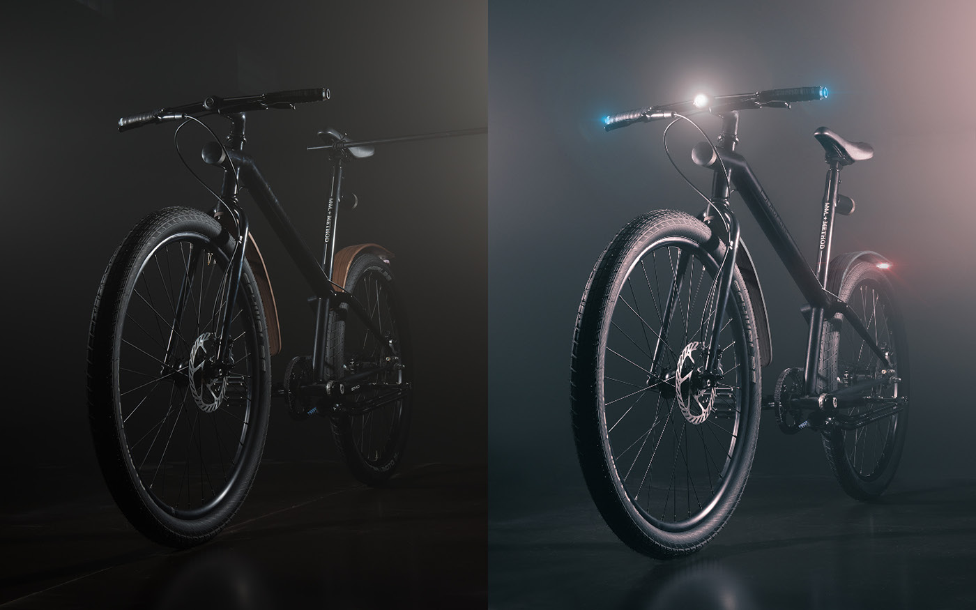 mnml Blackline Bike Oregon Manifest photoshoot fog retouch Bicycle minimal chicago app iPad Website Web UI