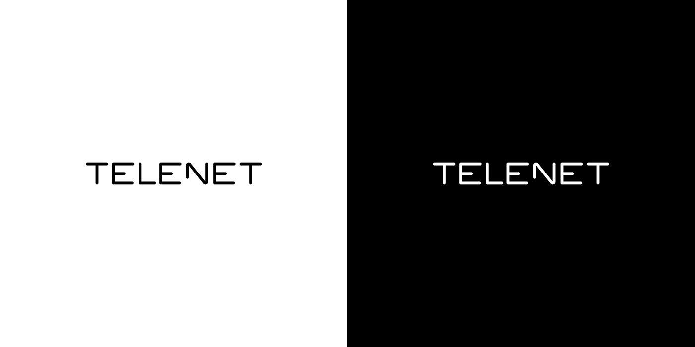 paralela - Telenet logo design