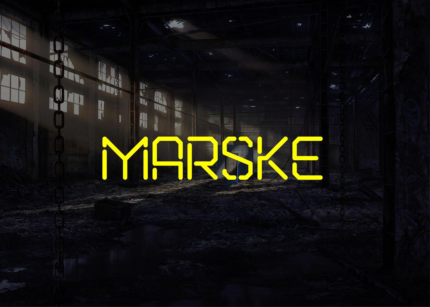Marske Font Download