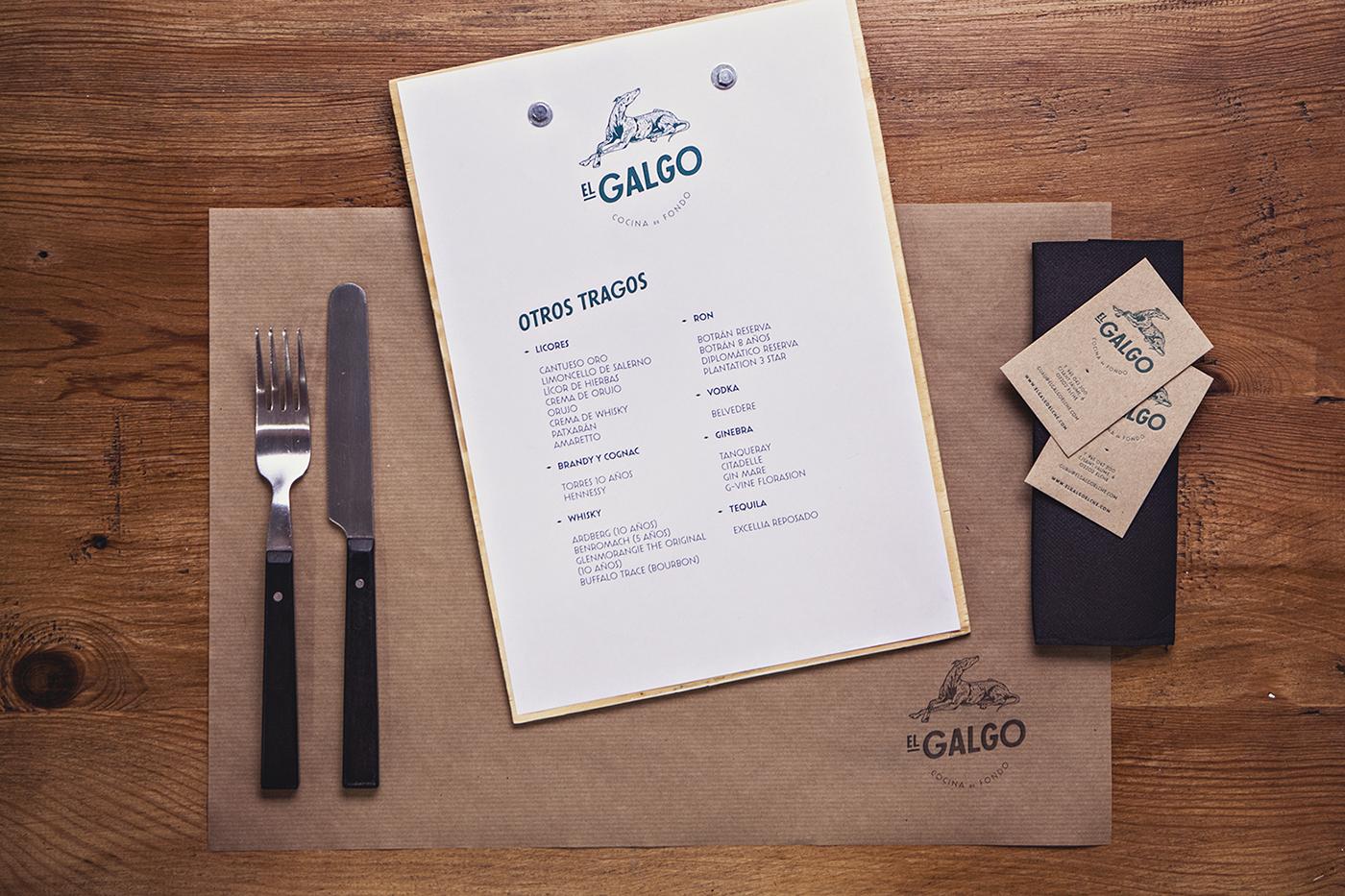 branding  graphic design  restaurant Food  logo dog modern kitchen gastro gourmet