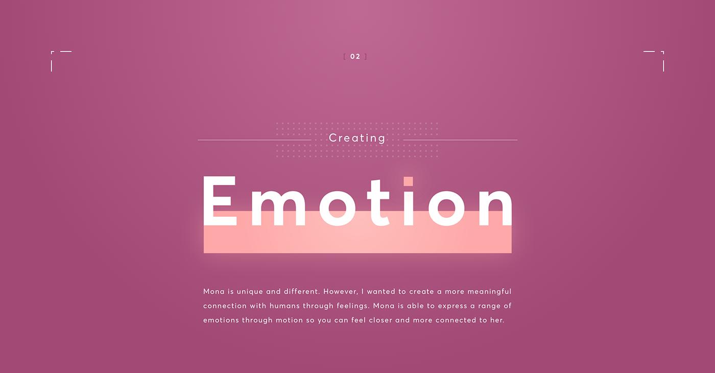 artificial intelligence ai UI ux motion 3D google Siri emotion