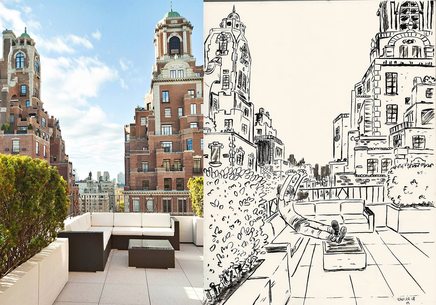 Urban Reference Sketching On Behance