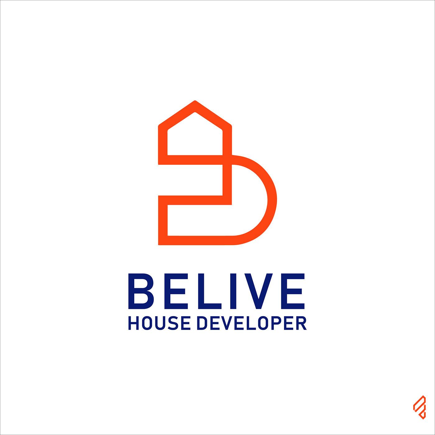 #B #BeliveHouseDeveloper #BLogo #companylogo #CorporateLogo #creativelogo #famebromedia #home #illustrator