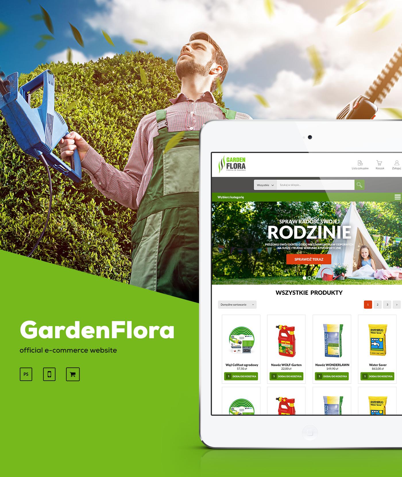 UI ux Webdesign poznan poland polska Ecommerce graphic design adstone