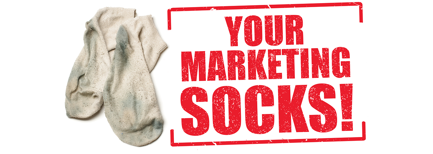 campaign marketing   socks Direct mail agency creative strategy Multi Channel Email postcard