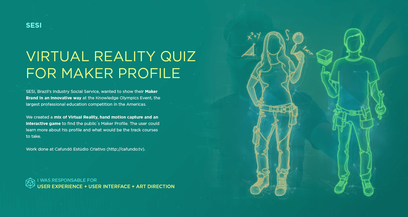 Virtual reality Quiz maker interaction game industry vr knowledge motion capture Interface