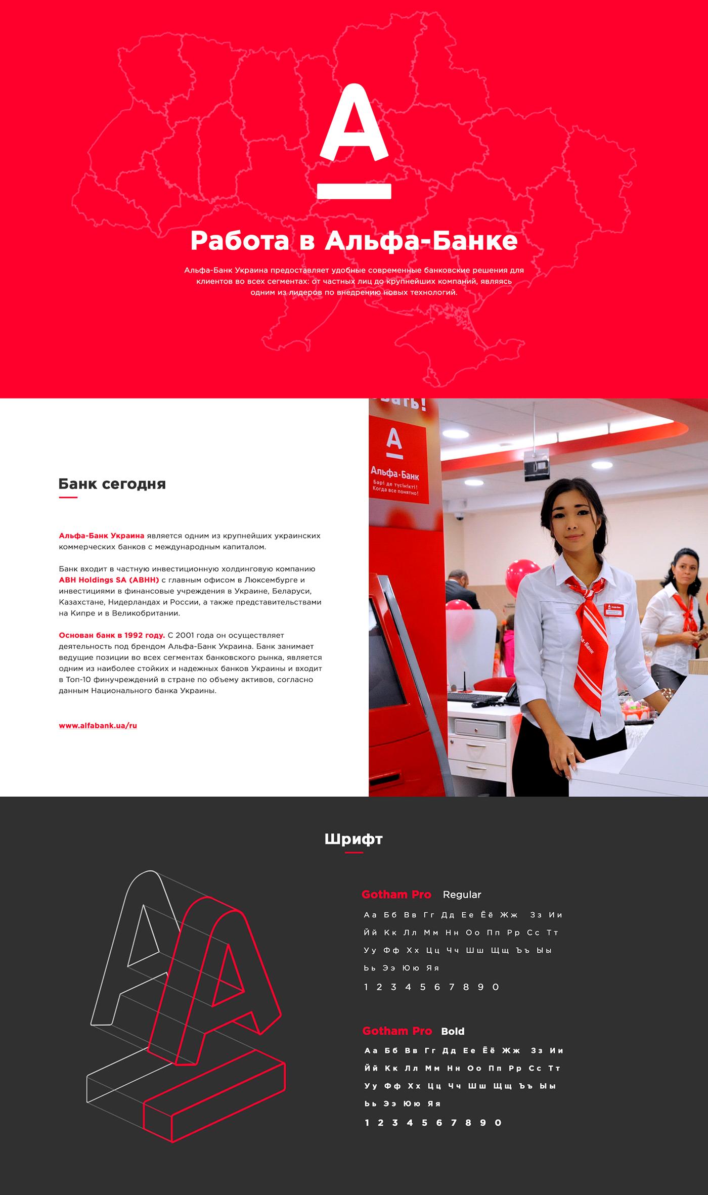 alfa-bank web-design UI/UX vis-a-vis eychar site Interface banking vacancy finance