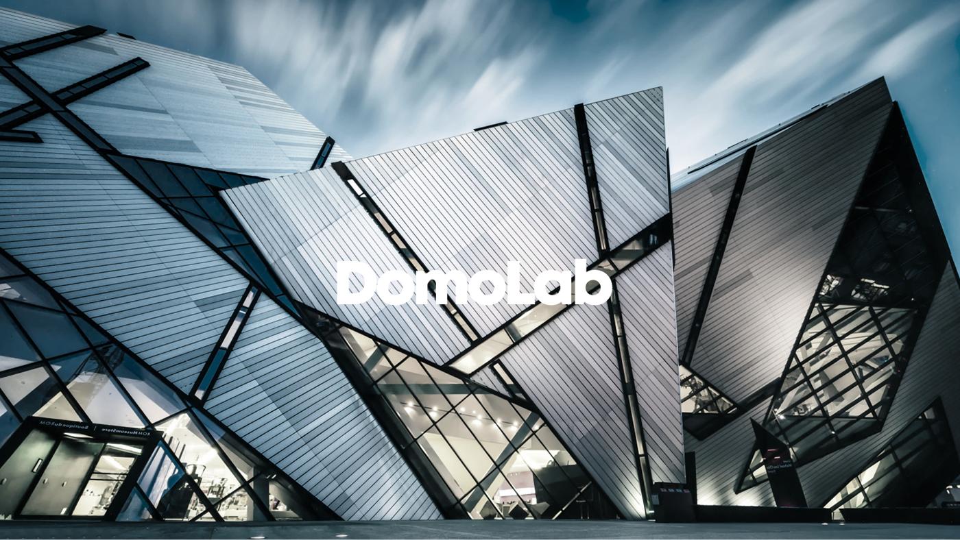 domo lab architecture brand identity on behance