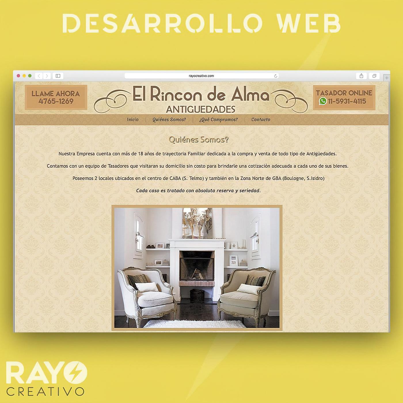 desarrollo web Diseño web Responsive sitio web Web Design  Website wordpress