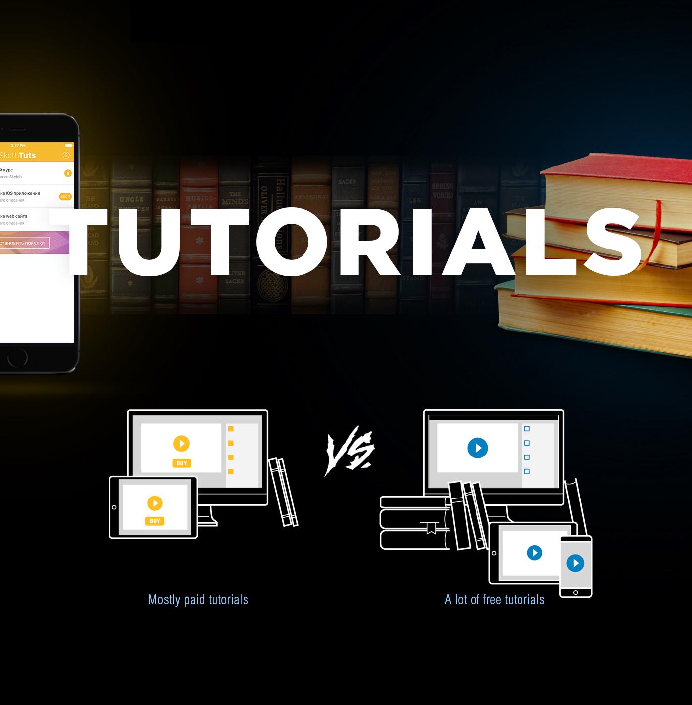 приложение app Web design Interface mobile mibileapp tutorial tuts sketch photoshop