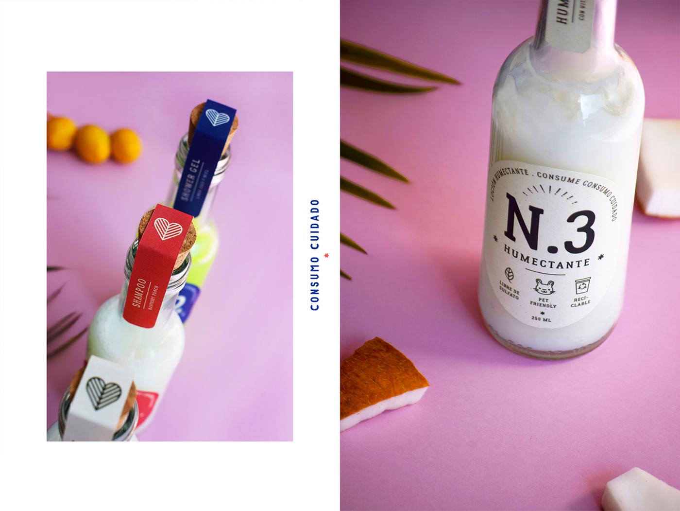 lima peru organic natural pattern shampoo cosmetics eco